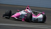 Pippa Mann, Dale Coyne, Indianapolis, 2014