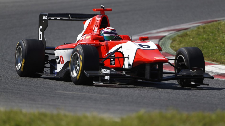 Jann Mardenborough, Arden, GP3, Circuit de Catalunya, 2014