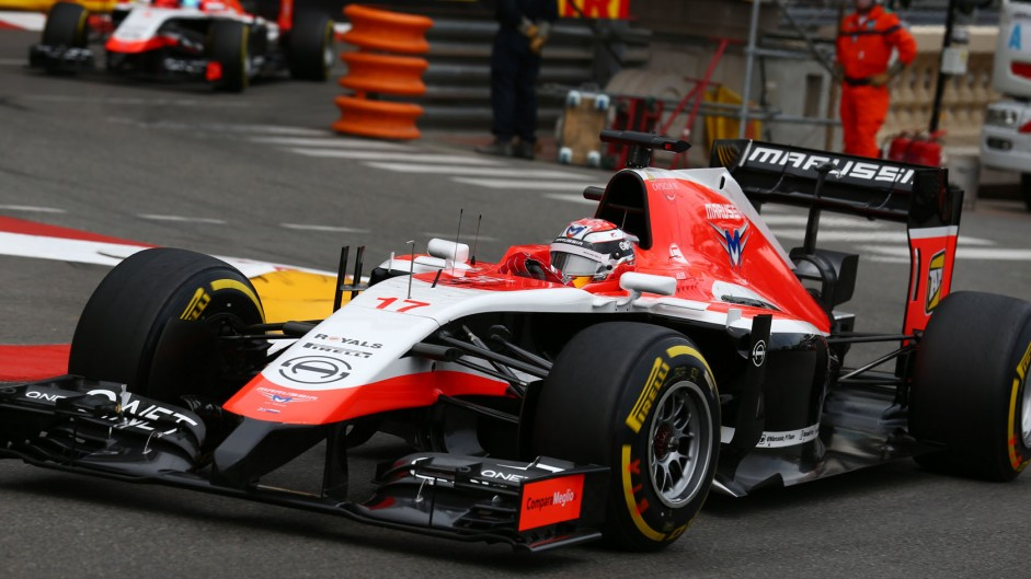 2014 Monaco Grand Prix lap charts