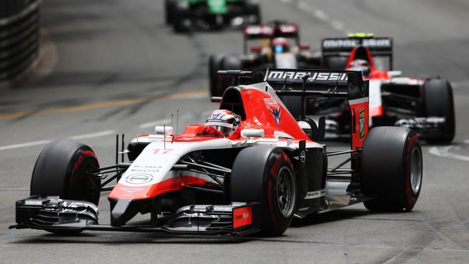 Jules Bianchi, Marussia, Monte-Carlo, 2014