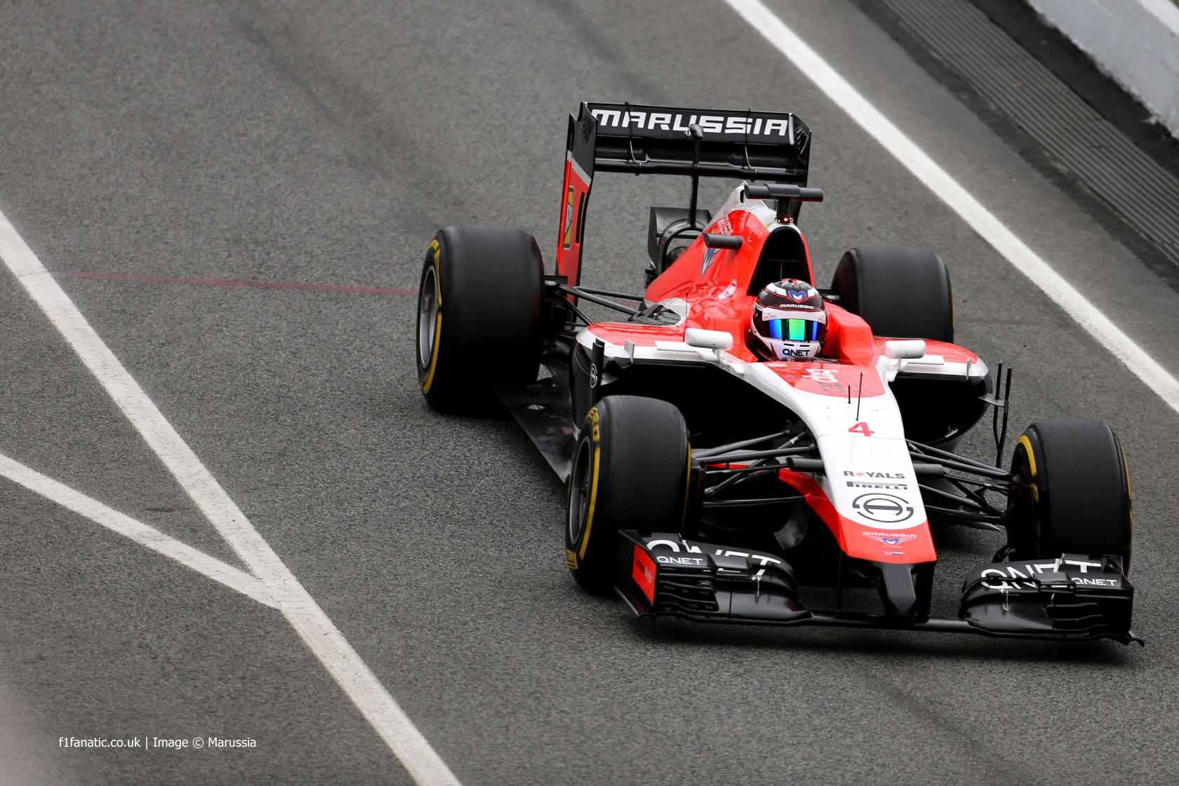 Max Chilton, Marussia, Circuit de Catalunya, 2014
