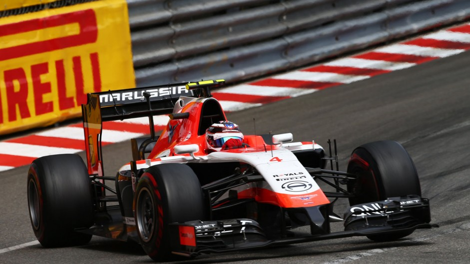 Max Chilton, Marussia, Monte-Carlo, 2014