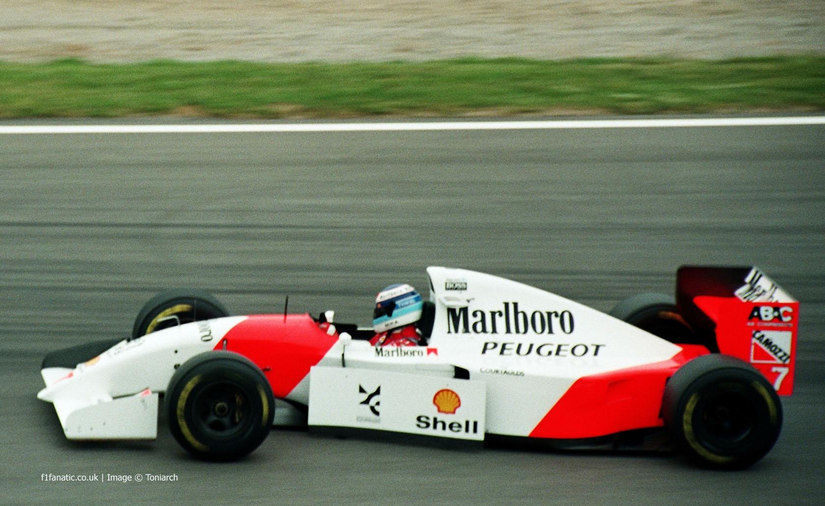 Mika Hakkinen, McLaren, Circuit de Catalunya, 1994