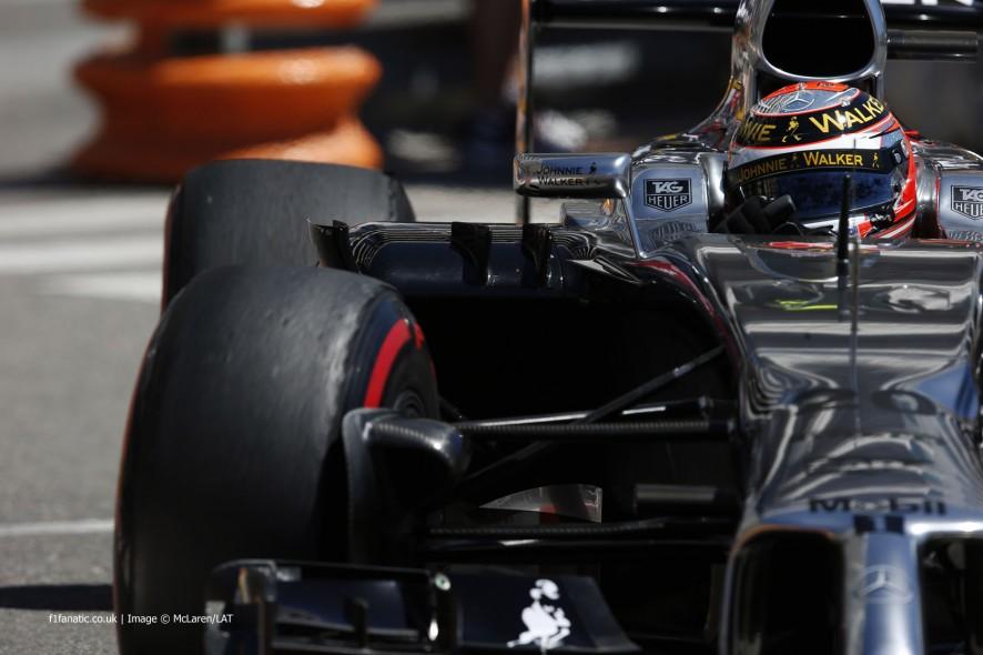 Kevin Magnussen, McLaren, Monte-Carlo, 2014