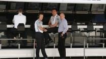 Sam Michael, Eric Boullier, Ron Dennis, McLaren, Circuit de Catalunya, 2014