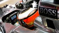 Stoffel Vandoorne, McLaren, Circuit de Catalunya, 2014