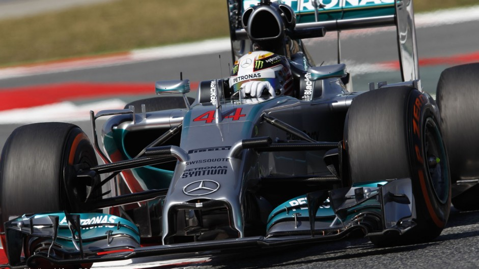 2014 Spanish Grand Prix grid
