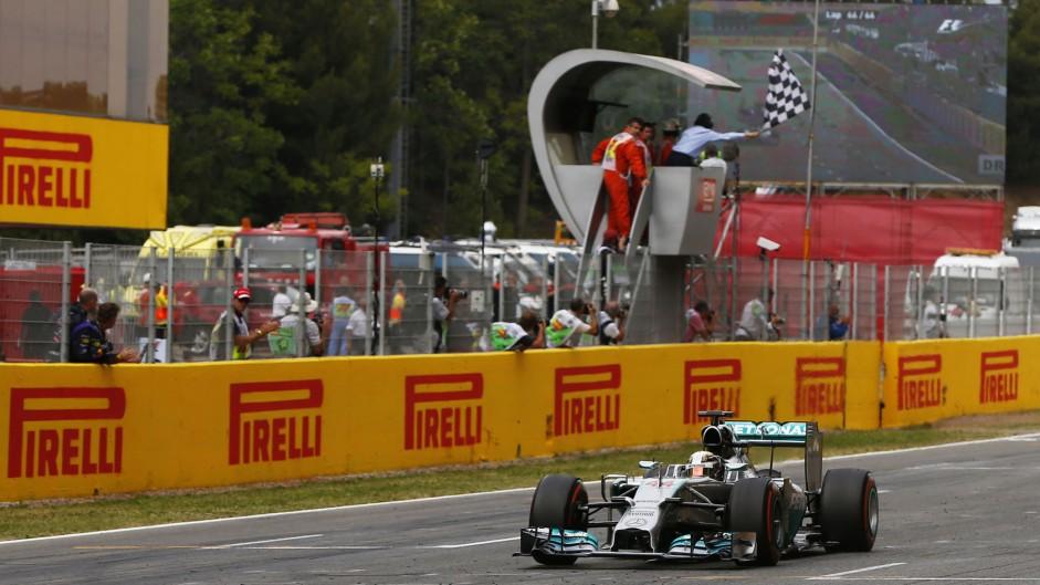 Lewis Hamilton, Mercedes, Circuit de Catalunya, 2014