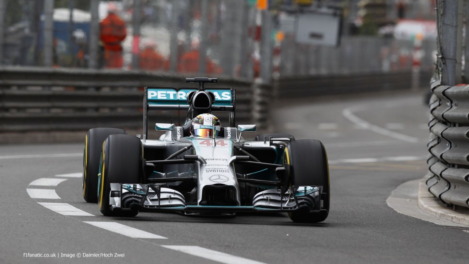 "Hamilton ""overslept"" but eyeing second Monaco win"