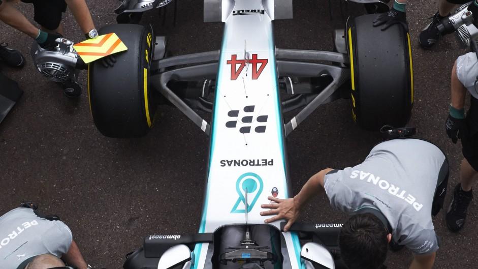 Lewis Hamilton, Mercedes, Monte-Carlo, 2014