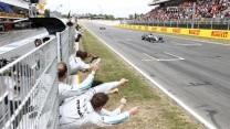 Lewis Hamilton, Nico Rosberg, Mercedes, Circuit de Catalunya, 2014