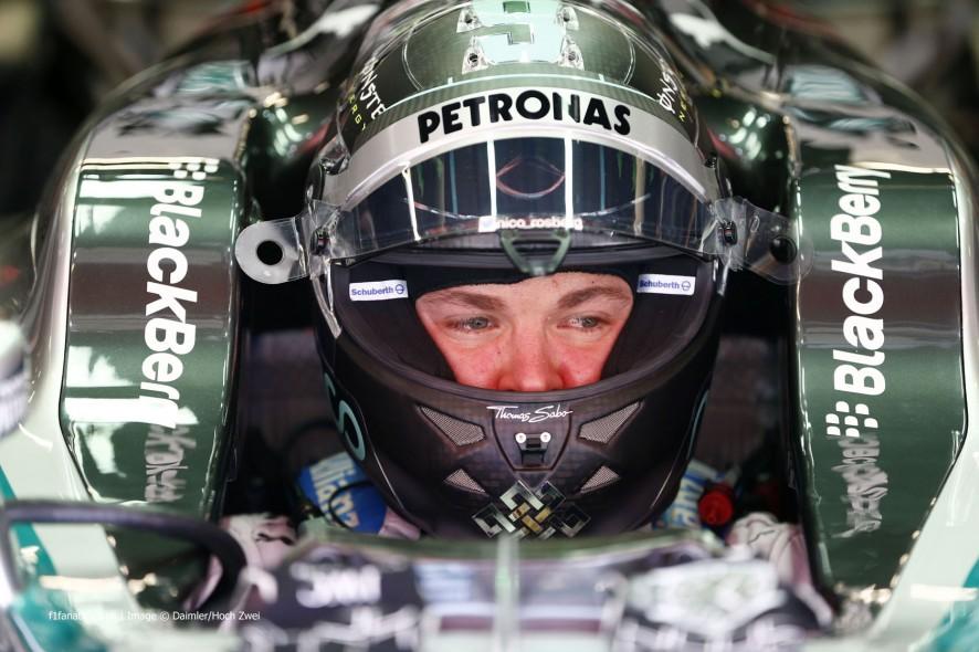 Nico Rosberg, Mercedes, Circuit de Catalunya, 2014