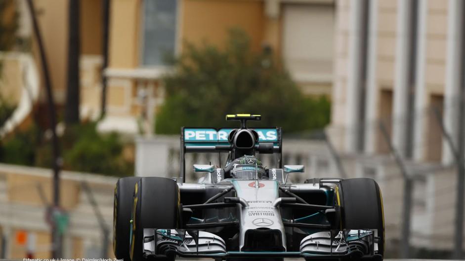 2014 Monaco Grand Prix grid