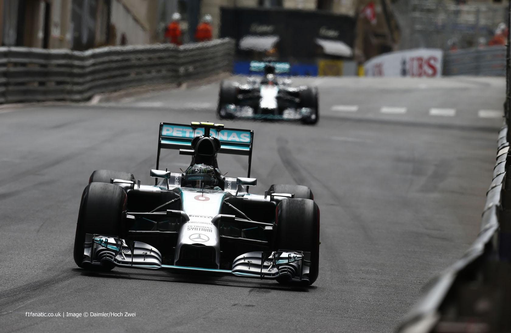 New Radio Reveals Hamilton's Suspicions In Monaco - F1 Fanatic
