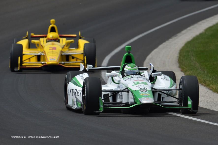 Carlos Munoz, Andretti, Indianapolis, 2014