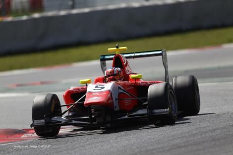 Patric Niederhauser, Arden, GP3, Circuit de Catalunya, 2014
