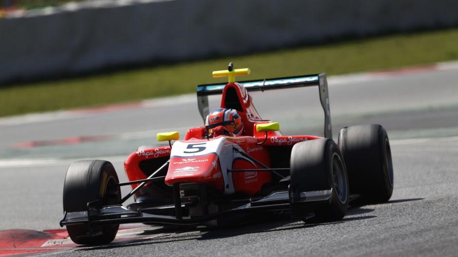 Live: 2014 Belgium GP3 race two