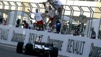 Nico Rosberg, ART, GP2, Bahrain, 2005