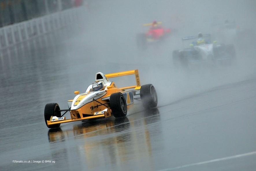 Nico Rosberg, Hockenheimring, Formula BMW, 2002