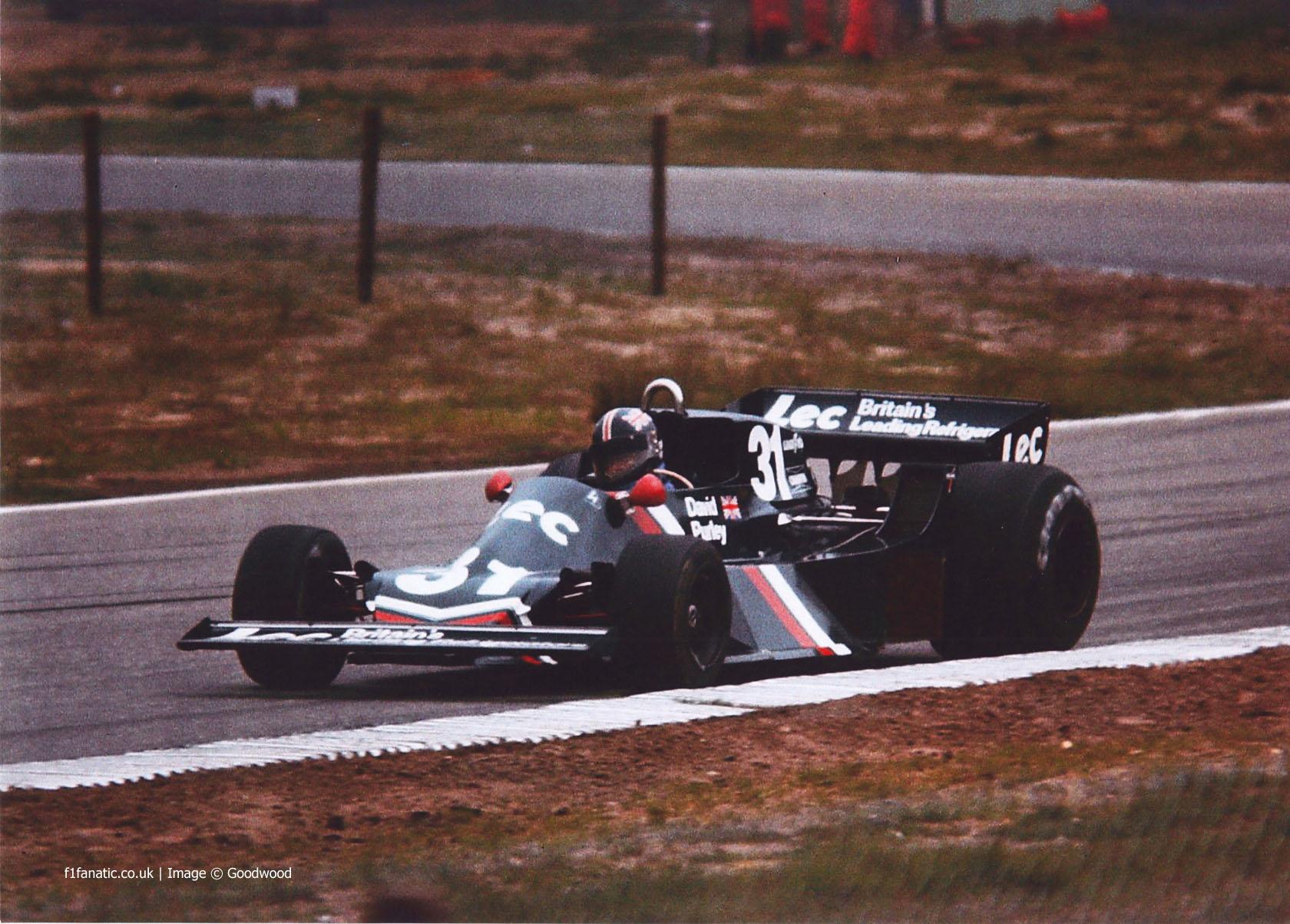 David Purley, Lec CRP1, 1977