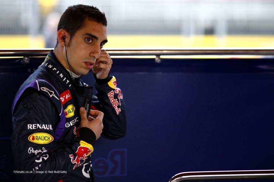 Sebastien Buemi, Red Bull, Circuit de Catalunya, 2014