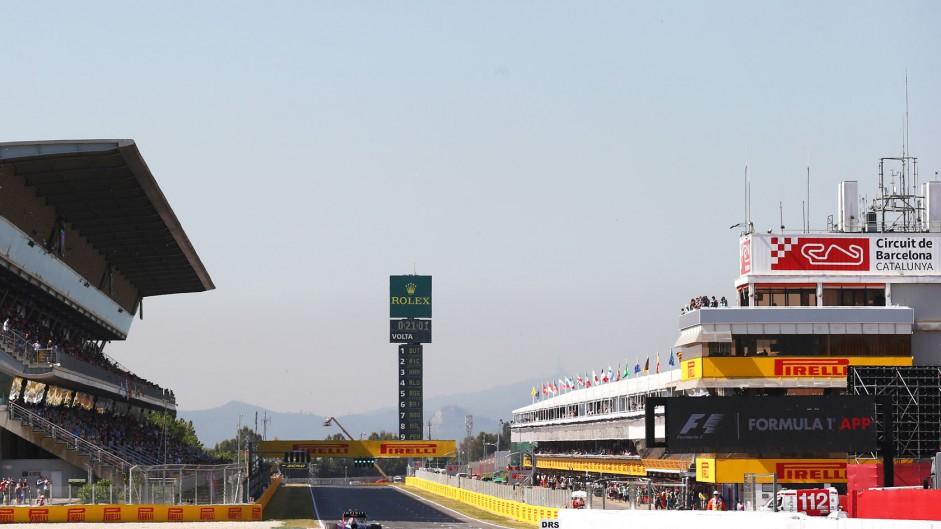 Daniel Ricciardo, Red Bull, Circuit de Catalunya, 2014