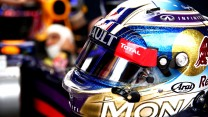 Daniel Ricciardo helmet, Red Bull, Monte-Carlo, 2014