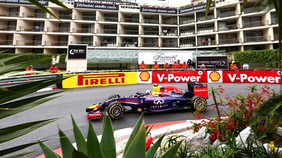 Daniel Ricciardo, Red Bull, Monte-Carlo, 2014