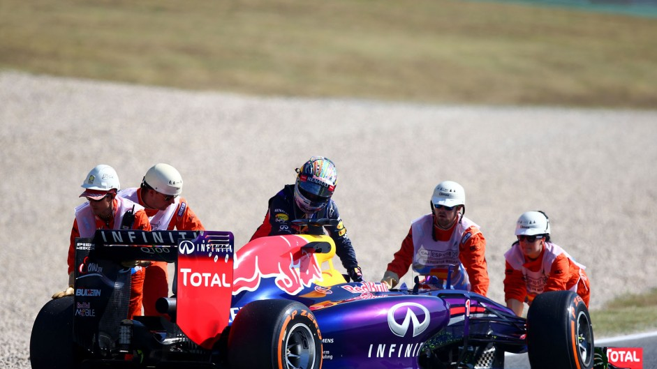 Top ten pictures from the 2014 Spanish Grand Prix