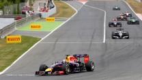 Sebastian Vettel, Red Bull, Circuit de Catalunya, 2014