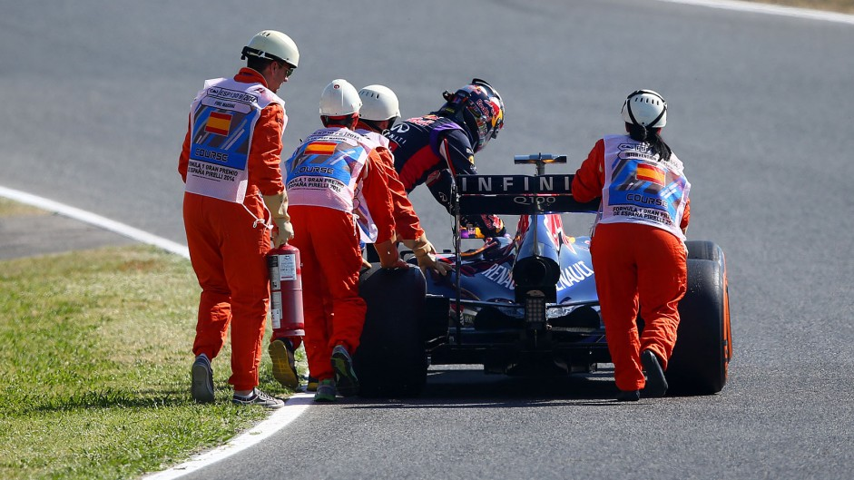 Vettel to miss rest of practice after electrical problem