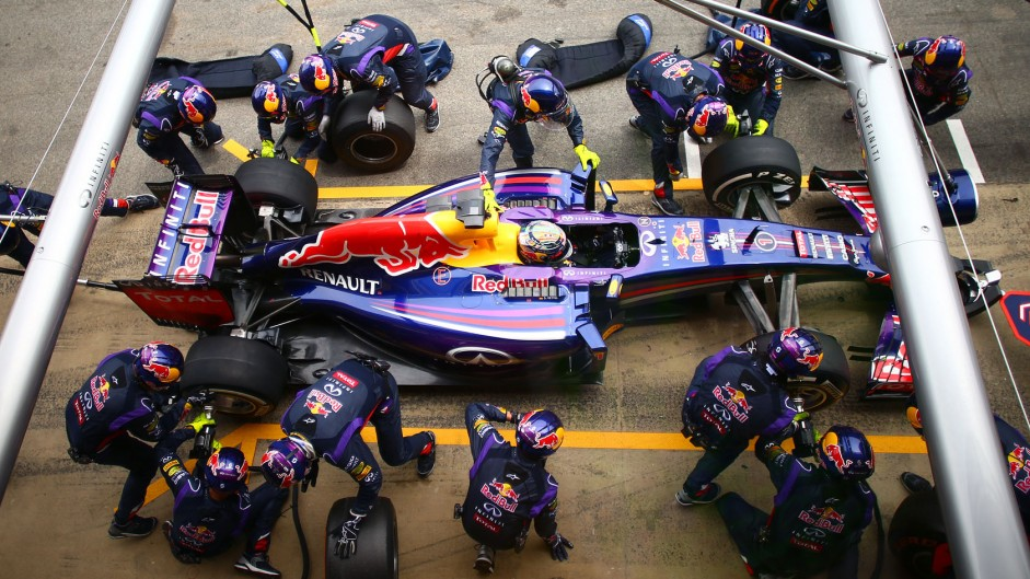 2014 Spanish Grand Prix tyre strategies and pit stops