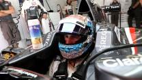Adrian Sutil, Sauber, Circuit de Catalunya, 2014