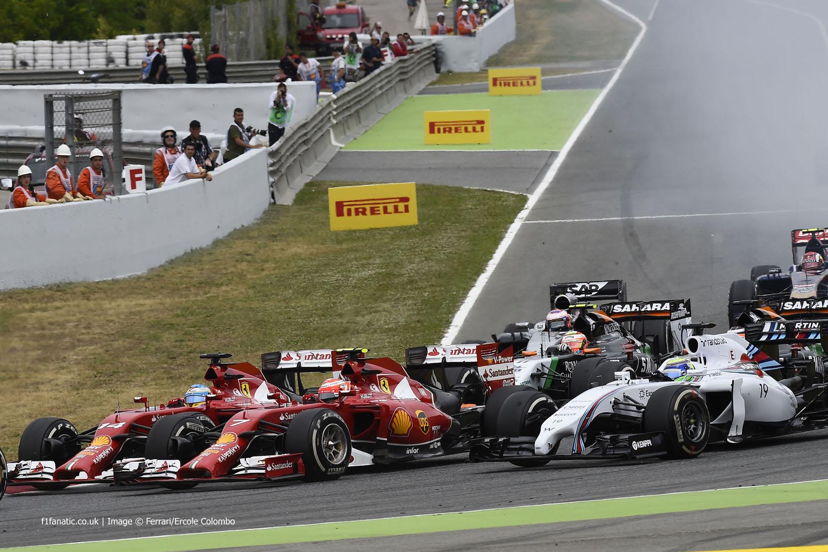 Start, Circuit de Catalunya, 2014