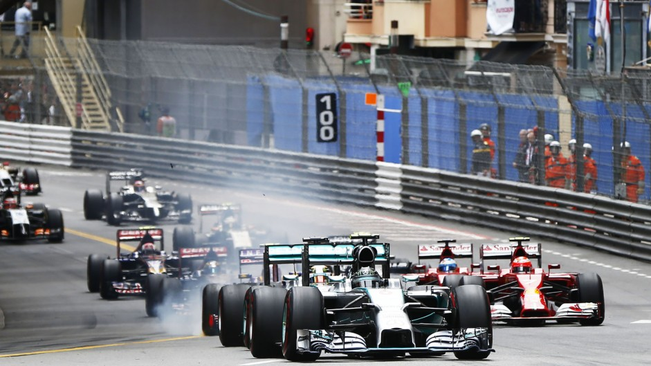 Start, Monte-Carlo, 2014