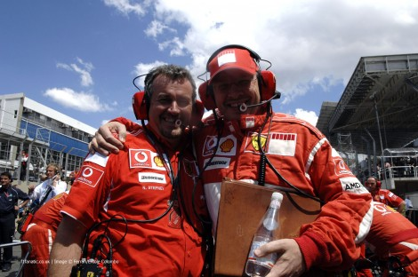 Nigel Stepney, Ross Barwn, Ferrari, 2006