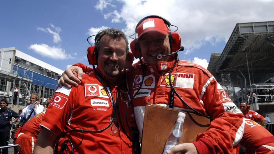 Nigel Stepney, Ross Barwn, Ferrari, 2006