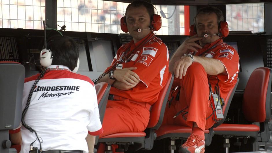 Stefano Domenicali, Nigel Stepney, Ferrari, 2006