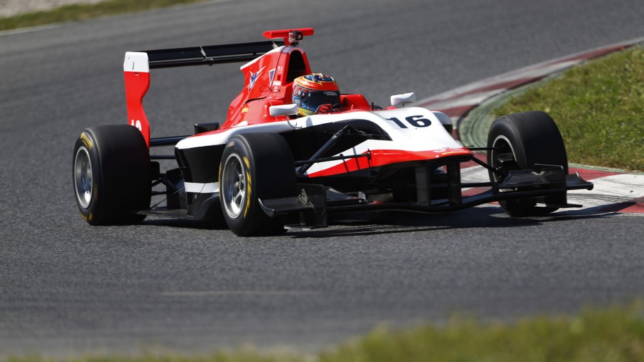 Dean Stoneman, Marussia Manor, GP3, Circuit de Catalunya, 2014