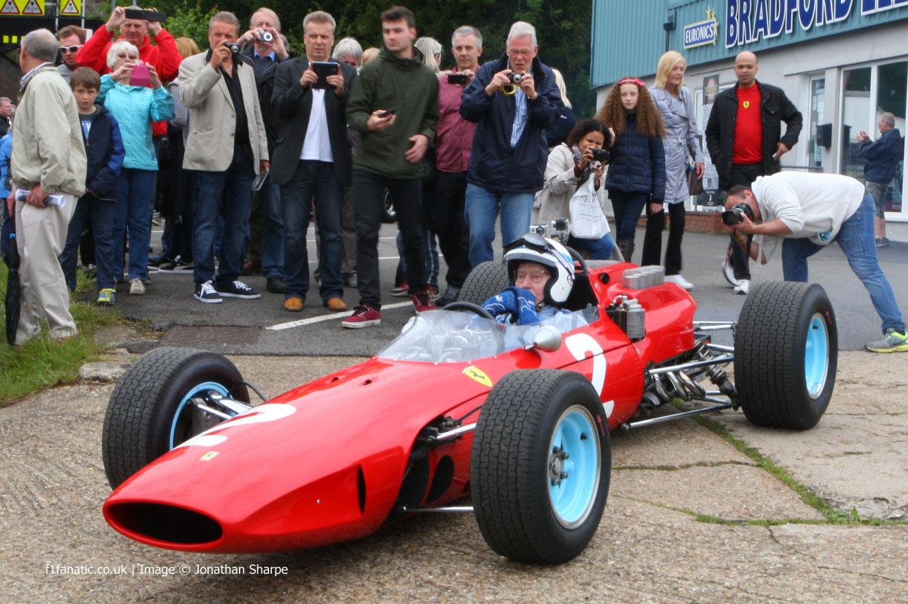 John Surtees, Ferrari 158, Edenbridge, 2014