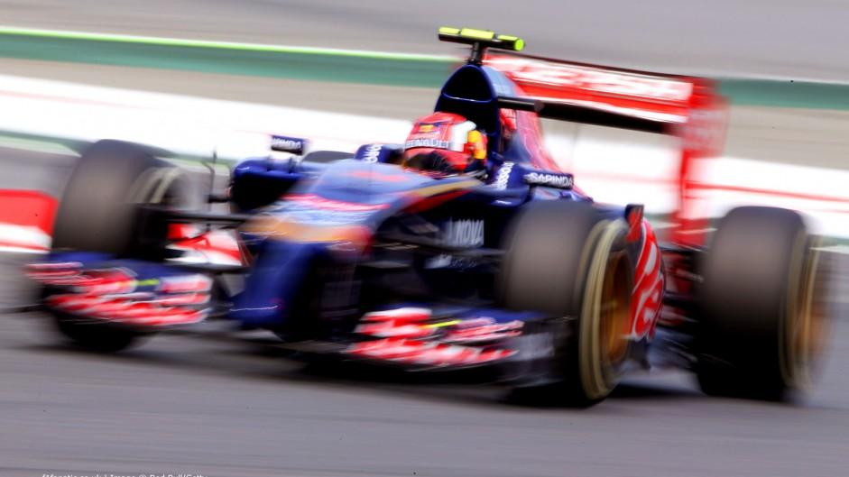 Daniil Kvyat, Toro Rosso, Circuit de Catalunya, 2014