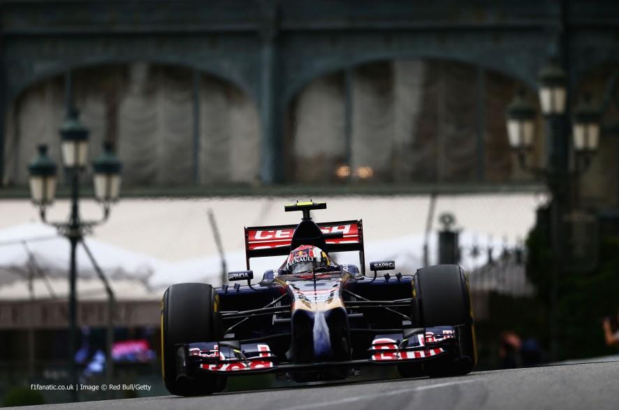 Daniil Kvyat, Toro Rosso, Monte-Carlo, 2014