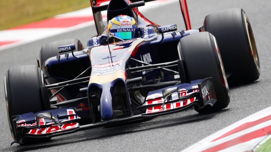 Jean-Eric Vergne, Toro Rosso, Circuit de Catalunya, 2014