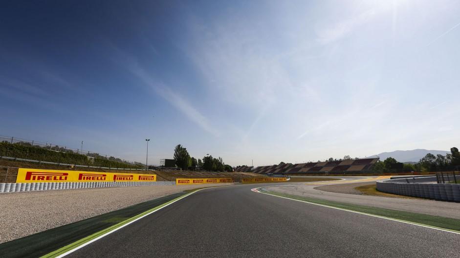 Turn two (reverse), Circuit de Catalunya, 2014
