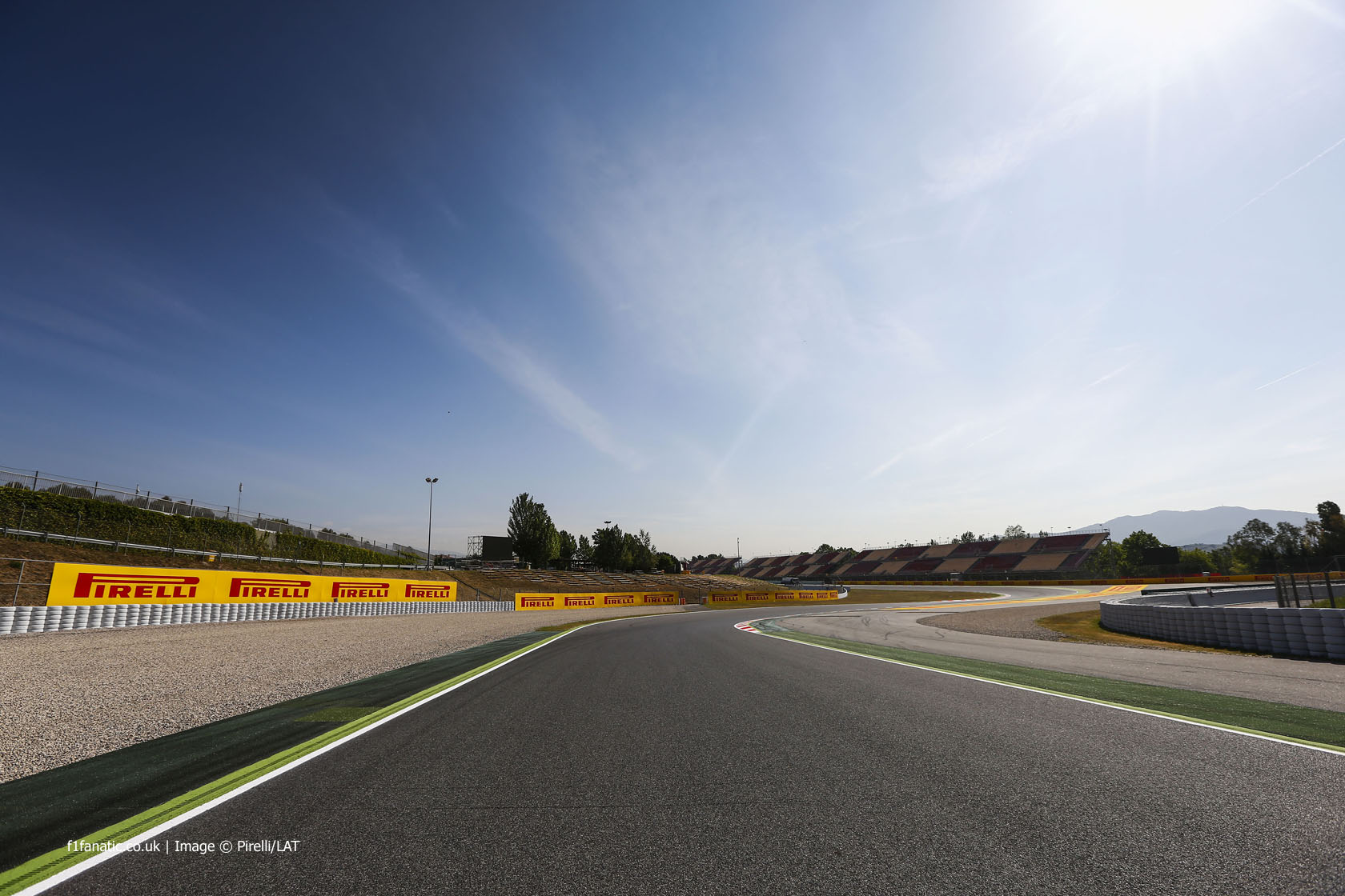 Turn two (reverse), Circuit de Catalunya, 2014