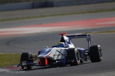 Santiago Urrutia, Koiranen, GP3, Circuit de Catalunya, 2014