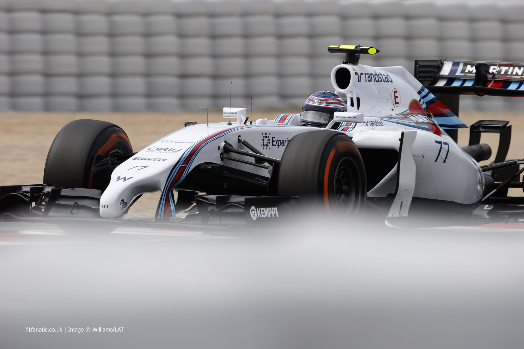 Valtteri Bottas, Williams, Circuit de Catalunya, 2014