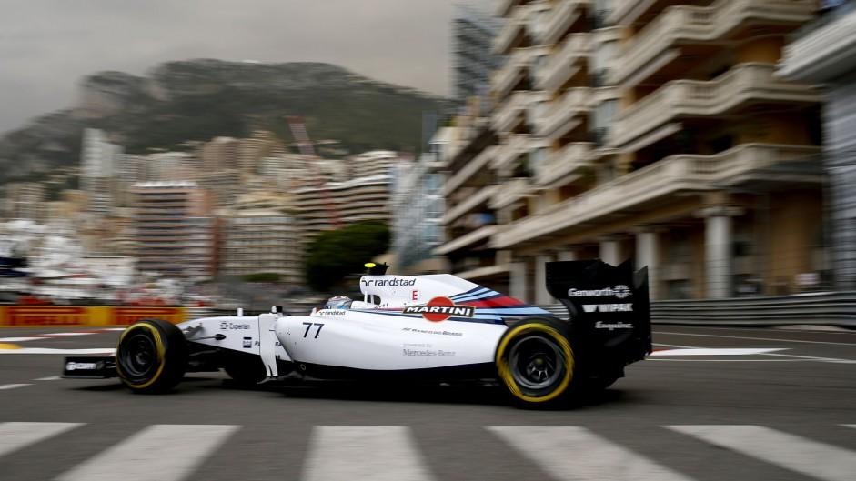 Valtteri Bottas, Williams, Monte-Carlo, 2014
