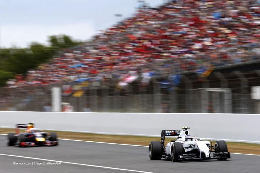 Valtteri Bottas, Williams, Circuit de Catalunya, 2014