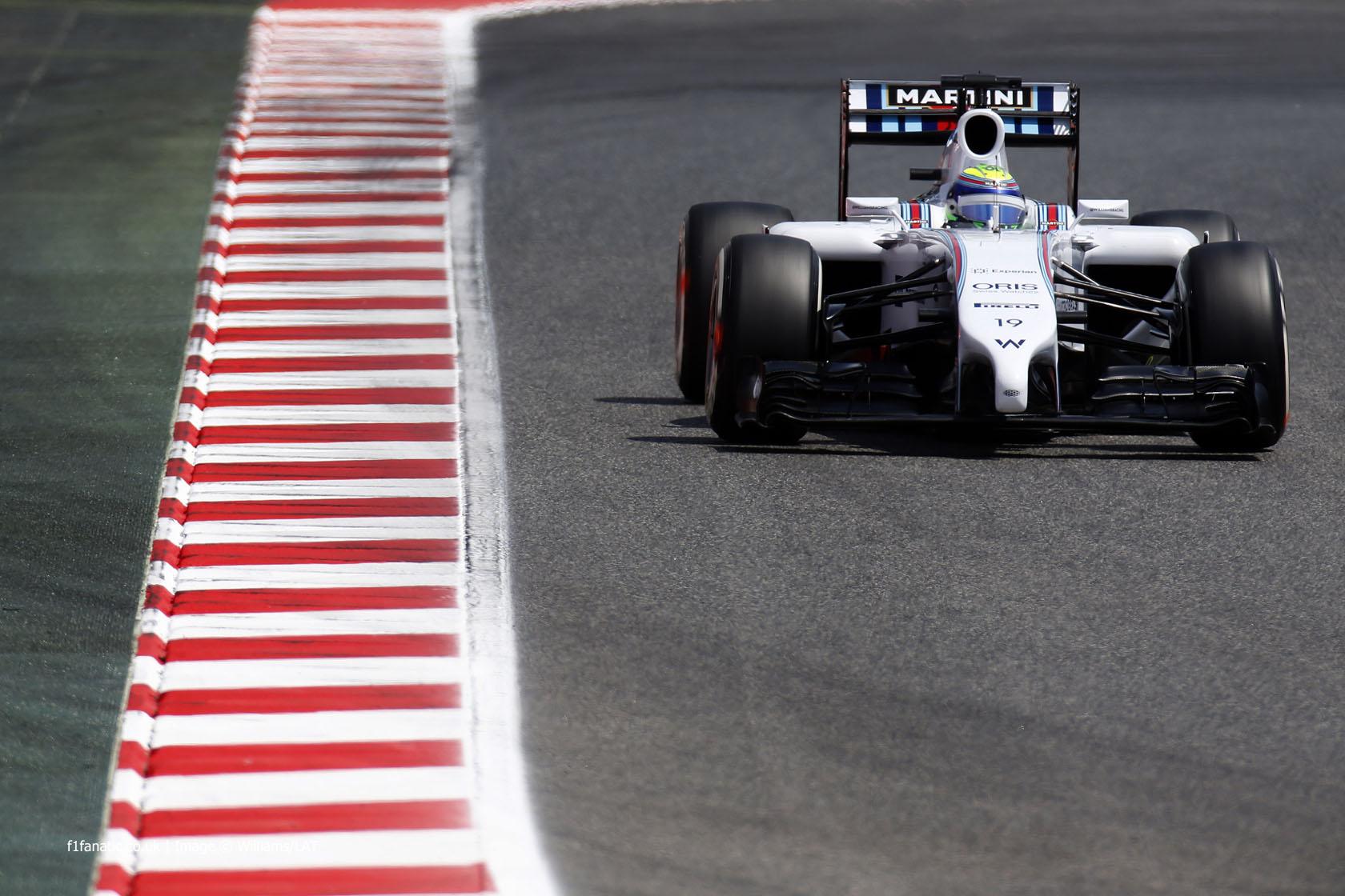 Felipe Massa, Williams, Circuit de Catalunya, 2014